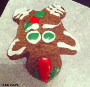 EPIC FAIL REINDEER COOKIE