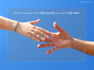two hands inspirational pic 2
