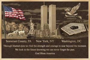 Sept 11 plaque
