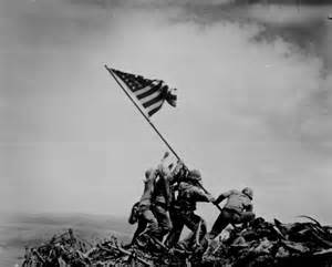 Iwo Jima Flag pic