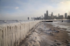 Sub-Zero Temperatures Put Chicago Into Deep Freeze