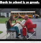 FIRST DAY OF SCHOOL FOR PARENTS
